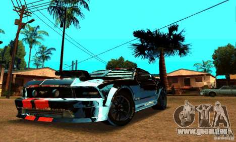 Ford Mustang Shelby GT500 From Death Race Script pour GTA San Andreas