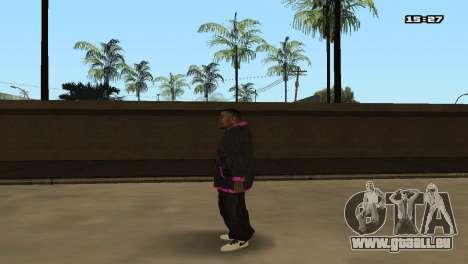 Skin Pack Ballas für GTA San Andreas siebten Screenshot