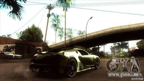 Bugatti Veyron Life Speed für GTA San Andreas rechten Ansicht