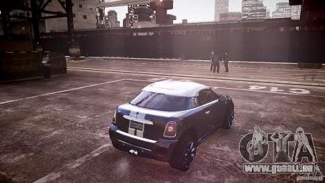 Mini Coupe Concept v0.5 pour GTA 4 Vue arrière de la gauche