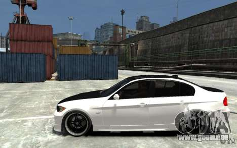 BMW 330i E60 Tuned 2 pour GTA 4 est une gauche