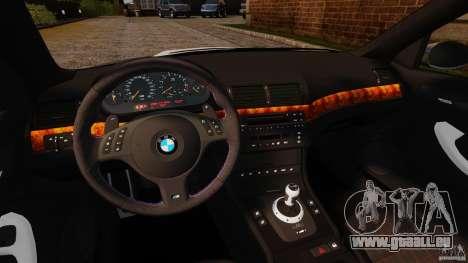 BMW M3 E46 pour GTA 4 Vue arrière