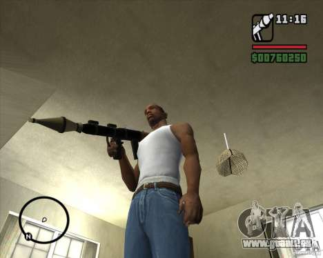 RiCkys Rocket Launcher pour GTA San Andreas