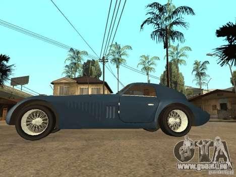 Alfa Romeo 2900B LeMans Speciale 1938 für GTA San Andreas linke Ansicht