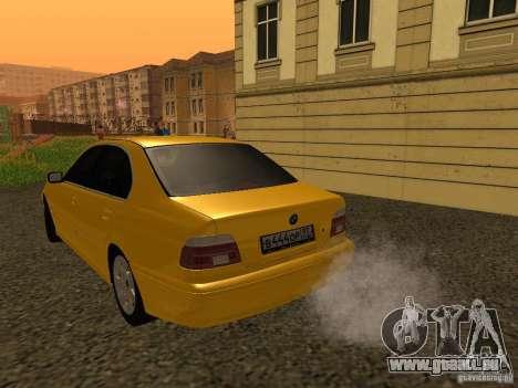 BMW 540i für GTA San Andreas rechten Ansicht