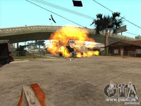Le script CLEO : mitrailleuse dans GTA San Andre pour GTA San Andreas cinquième écran