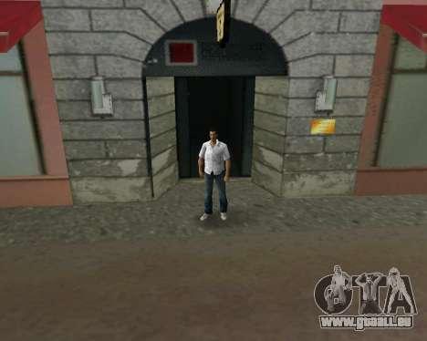 Chemise blanche pour le quatrième écran GTA Vice City