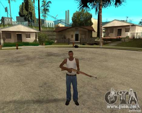 Armes de call of duty pour GTA San Andreas