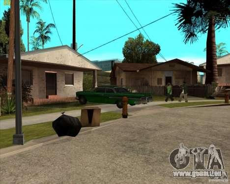 Car in Grove Street für GTA San Andreas zweiten Screenshot