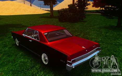 Pontiac GTO 1965 FINAL für GTA 4 hinten links Ansicht