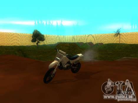 Moto Track Race pour GTA San Andreas