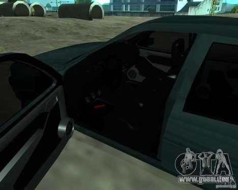 Opel Vectra GSiT 16V pour GTA San Andreas vue arrière