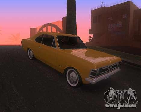 Chevrolet Opala Gran Luxo für GTA San Andreas