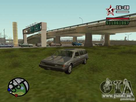 ENBSeries pour GForce 5200 FX v2.0 pour GTA San Andreas cinquième écran