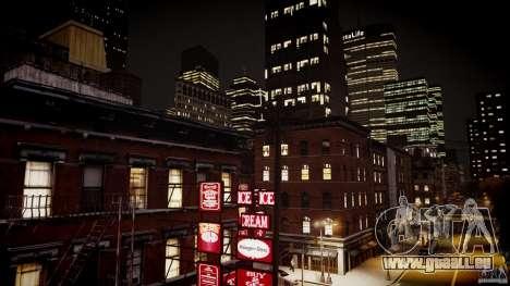 Realistic ENBSeries V1.1 pour GTA 4 dixièmes d'écran