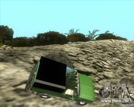 Chevrolet K5 Ute Rock Crawler pour GTA San Andreas laissé vue