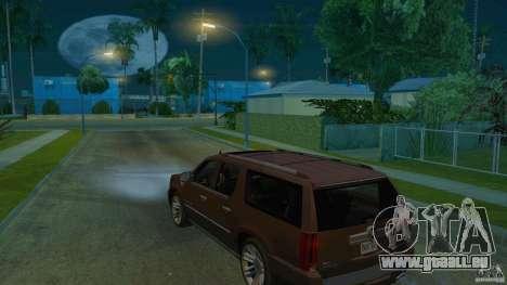 Cadillac Escalade ESV 2012 pour GTA San Andreas laissé vue