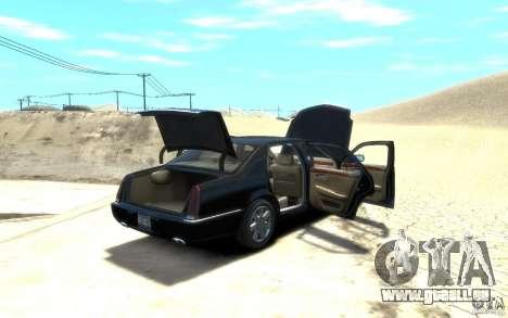 Cadillac DTS v 2.0 für GTA 4 Innenansicht