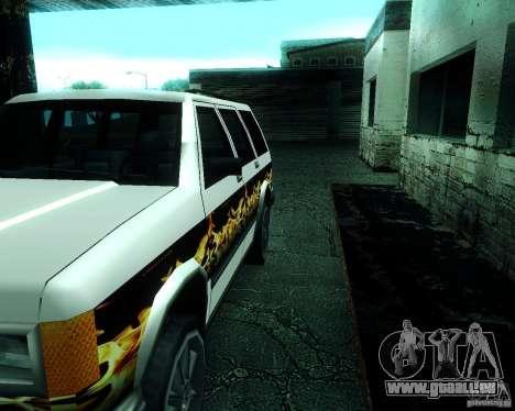 Landstalker pour GTA San Andreas vue de côté