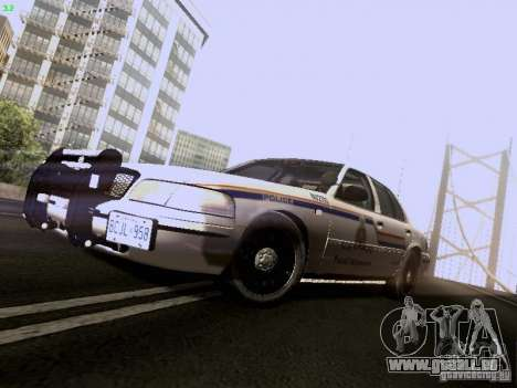Ford Crown Victoria Canadian Mounted Police pour GTA San Andreas
