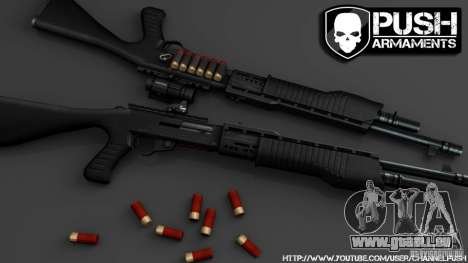 SPAS-12 Tactical für GTA 4