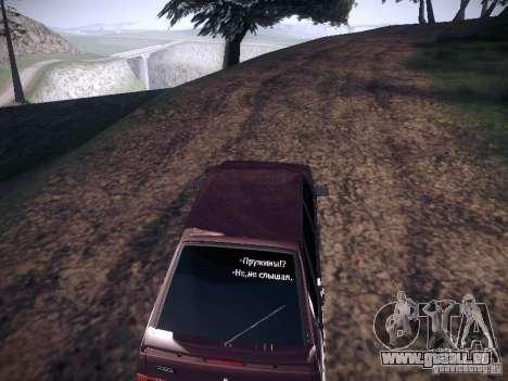 Ваз 2114 Pneumo für GTA San Andreas rechten Ansicht