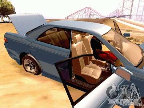 Toyota Mark II JZX90 pour GTA San Andreas vue arrière