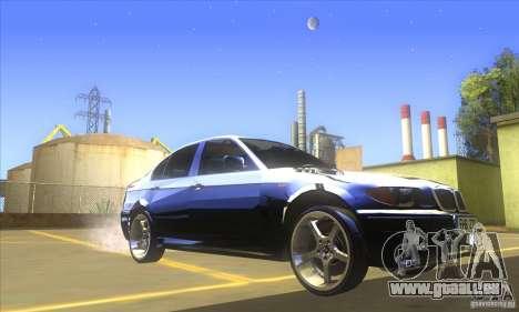 BMW 325i E46 v2.0 für GTA San Andreas linke Ansicht