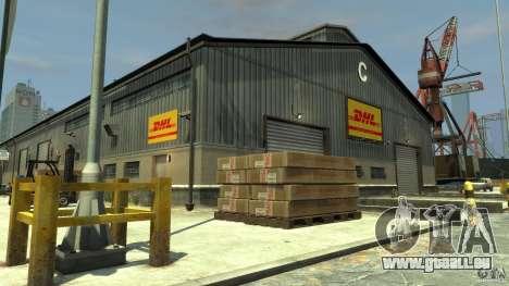 DHL-Port pour GTA 4 troisième écran