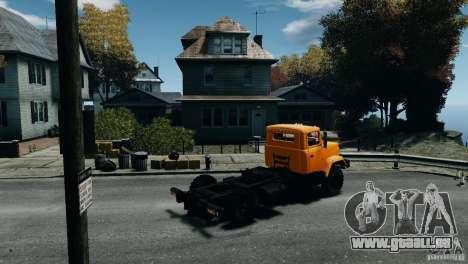 KrAZ-5133 für GTA 4 linke Ansicht