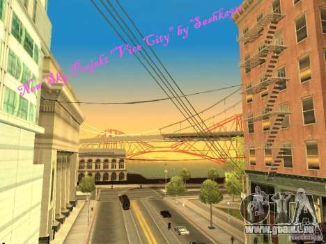 New Sky Vice City pour GTA San Andreas