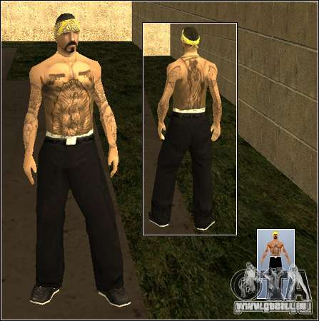 Skin Pack Getto für GTA San Andreas zehnten Screenshot