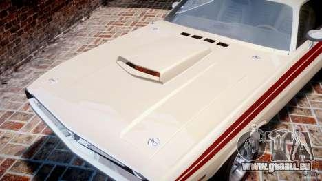 Dodge Challenger 1971 RT pour GTA 4 est un côté