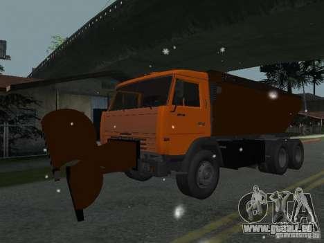 KAMAZ 53215 für GTA San Andreas zurück linke Ansicht