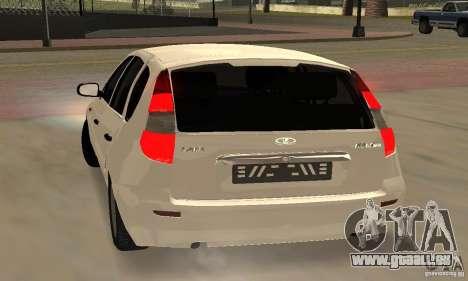 Lada Kalina Hatchback Stock pour GTA San Andreas vue de droite