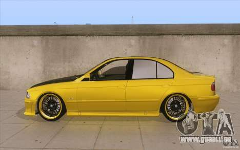 BMW M5 E39 - FnF4 für GTA San Andreas linke Ansicht