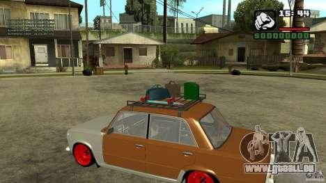 Lada 2101 OnlyDropped pour GTA San Andreas laissé vue