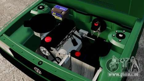 Volkswagen Gol GL 1992 Edit pour GTA 4 est une vue de l'intérieur