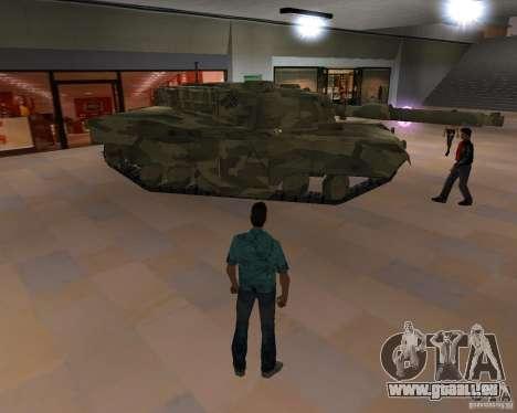 Réservoir de Camo pour GTA San Andreas sur la vue arrière gauche