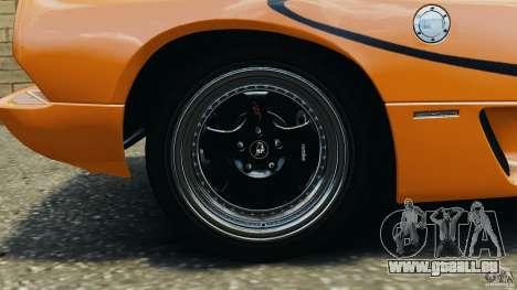 Lamborghini Diablo SV 1997 v4.0 [EPM] pour GTA 4 vue de dessus