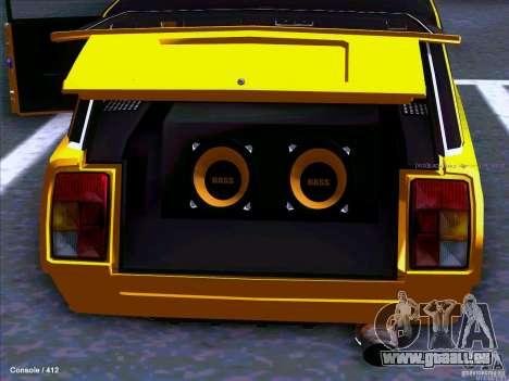 VAZ 2104 pour GTA San Andreas sur la vue arrière gauche
