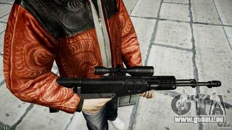 Accuracy International AS50 für GTA 4 sechsten Screenshot