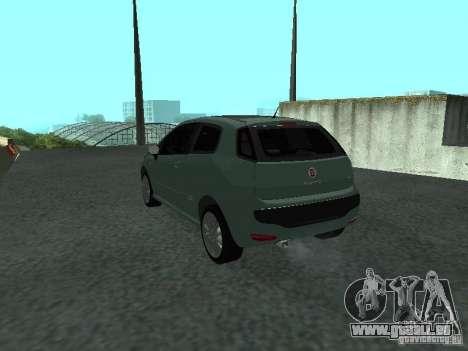 Fiat Punto EVO SPORT 2010 pour GTA San Andreas laissé vue