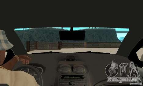Chevrolet Aveo pour GTA San Andreas vue de droite