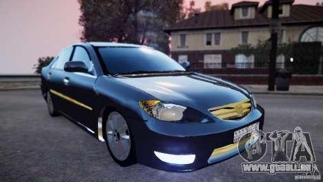 Toyota Camry 2004 pour GTA 4 Vue arrière