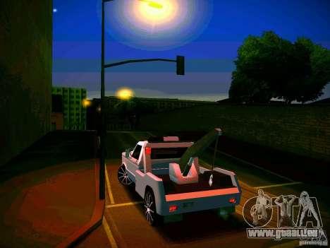 Towtruck tuned für GTA San Andreas Seitenansicht