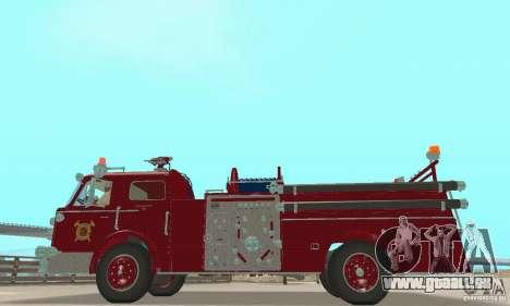 American LaFrance Pumper 1960 für GTA San Andreas rechten Ansicht