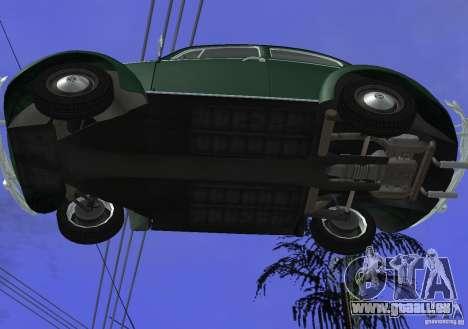 Volkswagen Beetle 1963 pour GTA San Andreas vue de côté