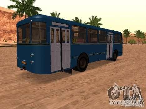 LIAZ 677 für GTA San Andreas Räder