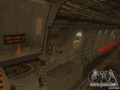 CH46 pour GTA San Andreas vue de dessus